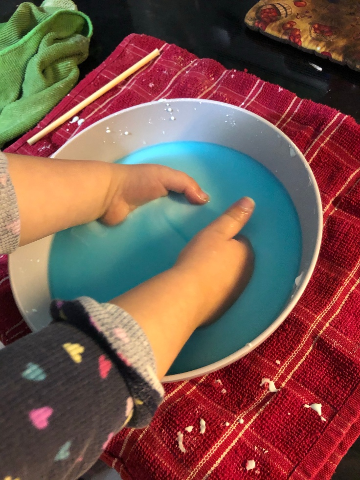 Oobleck.